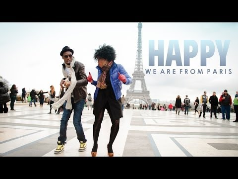Pharrell Williams - Happy WE ARE FROM PARIS