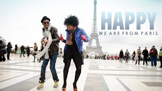 Repeat youtube video Pharrell Williams - Happy WE ARE FROM PARIS