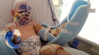 'My mum's partner tried to kill us'   BBC News