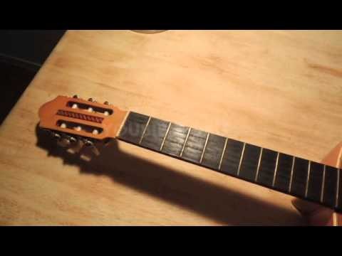 nylon to steel string guitar conversion 1 youtube. Black Bedroom Furniture Sets. Home Design Ideas