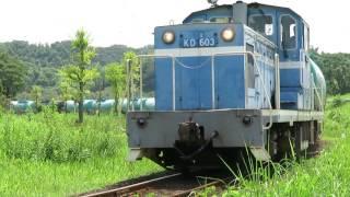 2016年08月10日 京葉臨海鉄道 北袖分岐~北袖間を行く505列車
