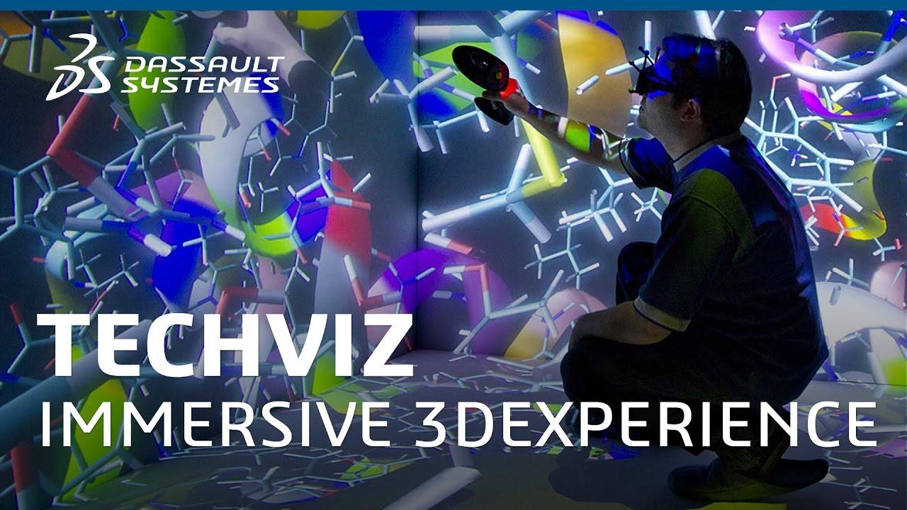 7f6351b9413 TechViz XL for Immersive 3DEXPERIENCE - Dassault Systèmes - YouTube