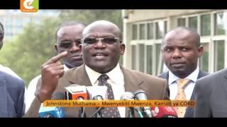 CORD: Matayarisho ya uchaguzi yasitishwe