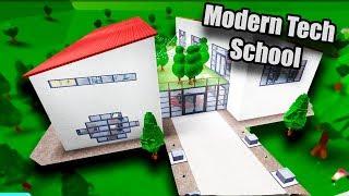 Modern Tech School Speedbuild • Roblox: Bloxburg • 296K