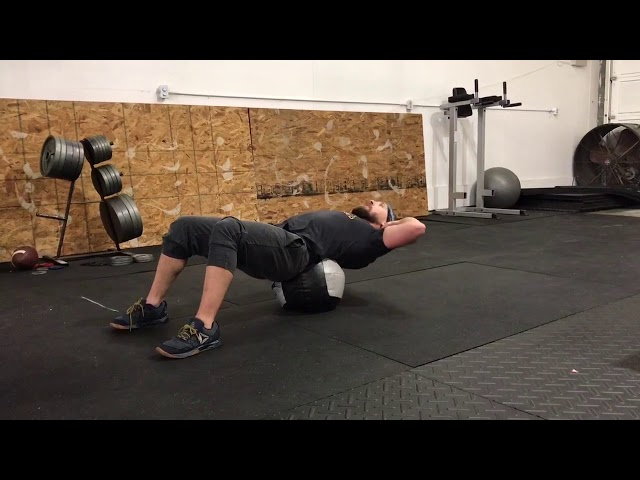 Med Ball Crunches