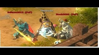 Drakensang Online Funny PvP with Two-Handed :D