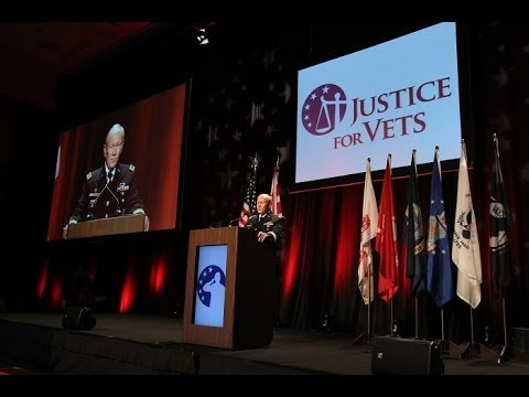 Chairman of the Joint Chiefs of Staff General Martin Dempsey Speaks at Vet Court Con