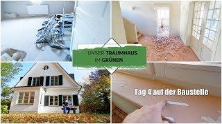 Das war ein Fehler! 😣 | Das Haus voller Staub | Fliesen & Teppich raus! | Folge 15 | Isabeau