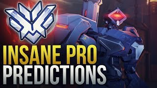 WHEN PROS MAKE INSANE PREDICTION PLAYS - 200 IQ - Overwatch Montage