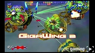 Retro Plays GigaWing 2 On Dreamcast