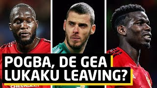 Pogba, De Gea & Lukaku All Leaving?   Rabiot Update   Man Utd Transfer News