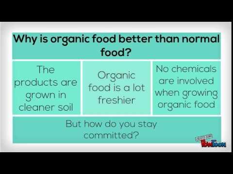 Home ec- organic food