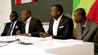 Conférence sur l'alternance au Congo à l'université de Montréal avec Sosthene K. Samba