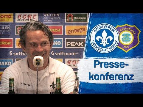 Darmstadt 98   Pressekonferenz nach D98-AUE