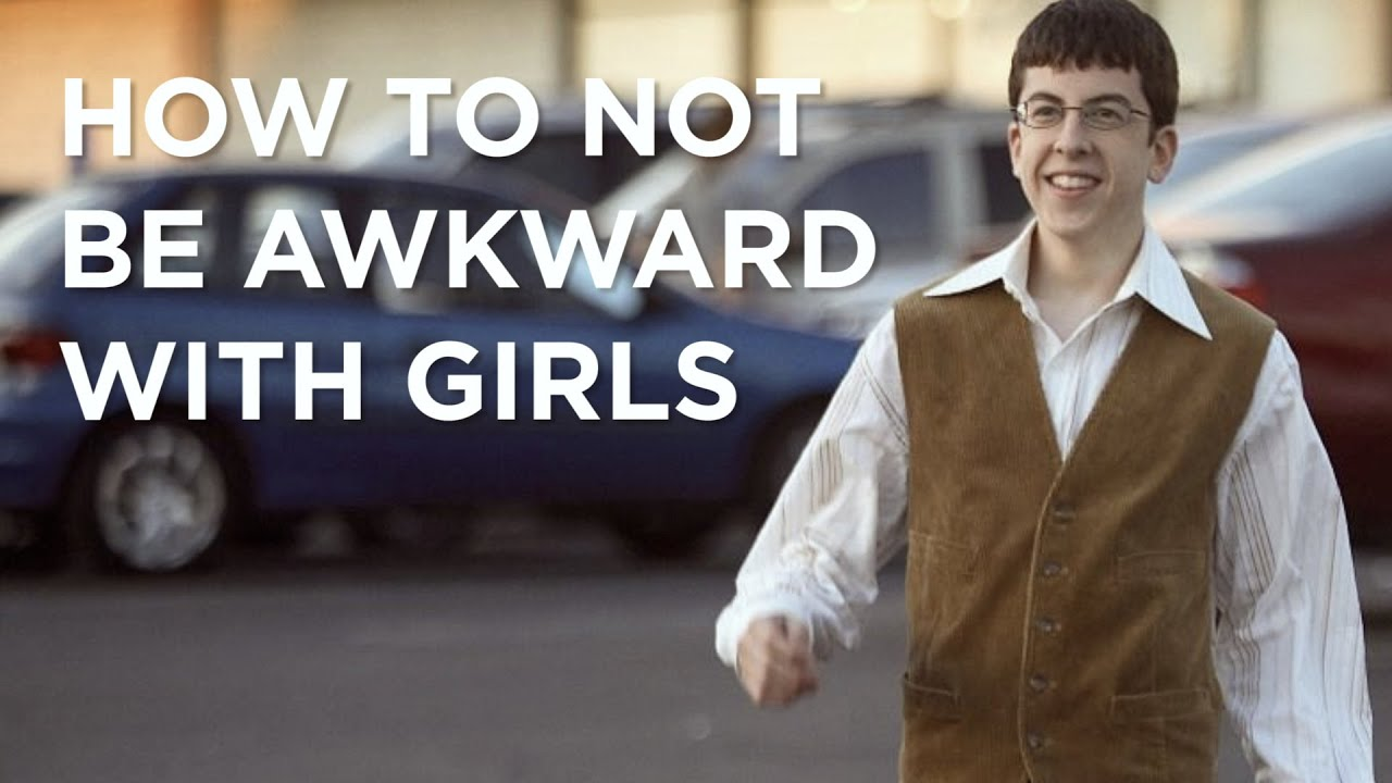 How to be less shy around girls