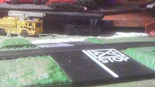 HO Scale New York Central E7A & E7B Doing Daily Freight Operations