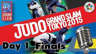 Judo Grand-Slam Tokyo 2015: Day 1 - Final Block