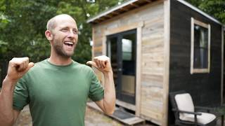Eco Friendly $1,500 Tiny House - 100 Sqft & Built To Be Self Sustained