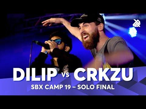 DILIP vs CRKZU   SBX Camp Student Solo Battle 2019   Final