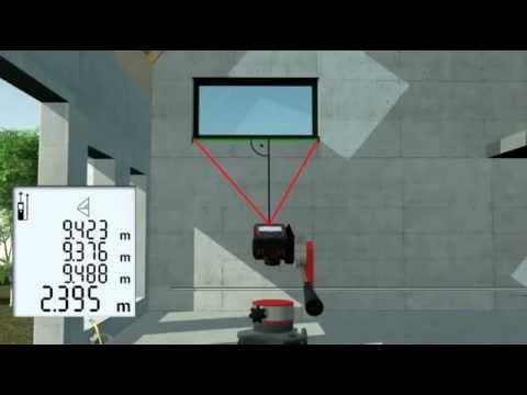 Leica Laser Entfernungsmesser Disto D5 : Leica disto pythagorasmessung laser shop youtube