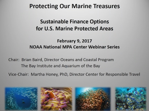 Protecting Our Marine Treasures: Sustainable Finance Options for US Marine Protected Areas