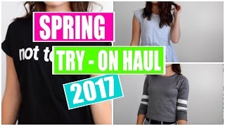 Spring Try On Haul 2017 - shein.com review