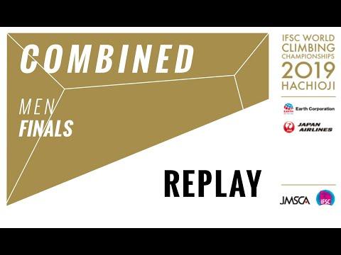 IFSC Climbing World Championships - Hachioji 2019 - COMBINED - Men Finals