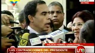 Las contradicciones de Armando Benedetti en Caracas