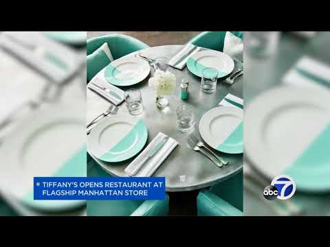 Breakfast At Tiffany's Becomes A Reality At 5th Avenue Location In New York