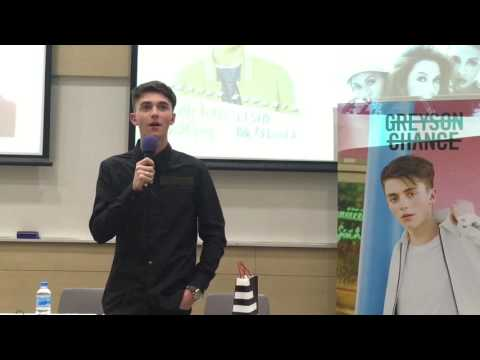 GREYSON CHANCE #LIVEINSG - FULL PRESS CONFERENCE + CONCERT
