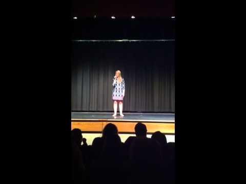 Kaitlyn Johnson @ Wheatmore Talent Show 2011