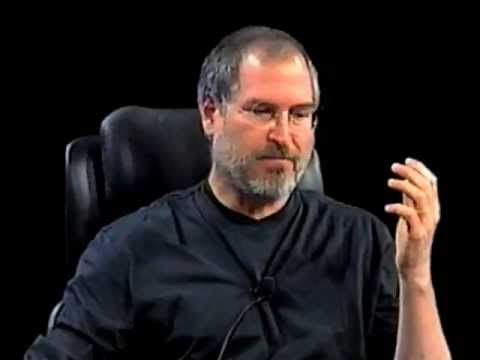 Steve Jobs 2003 at the first D, All Things Digital Conference.