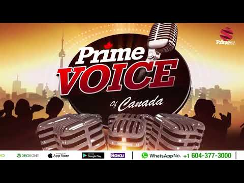Prime Voice of Canada #5 Singing Reality Show Auditions on Prime Asia TV