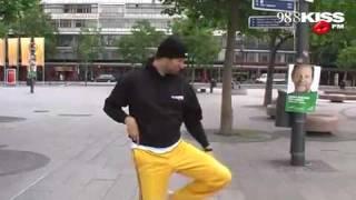 98.8 KISS FM Basty tanzt auf'm Ku'damm