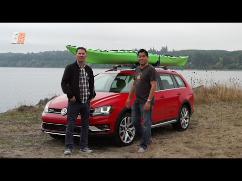 Face Off: 2017 VW Golf Alltrack vs Subaru Outback 2.5 L... | Doovi