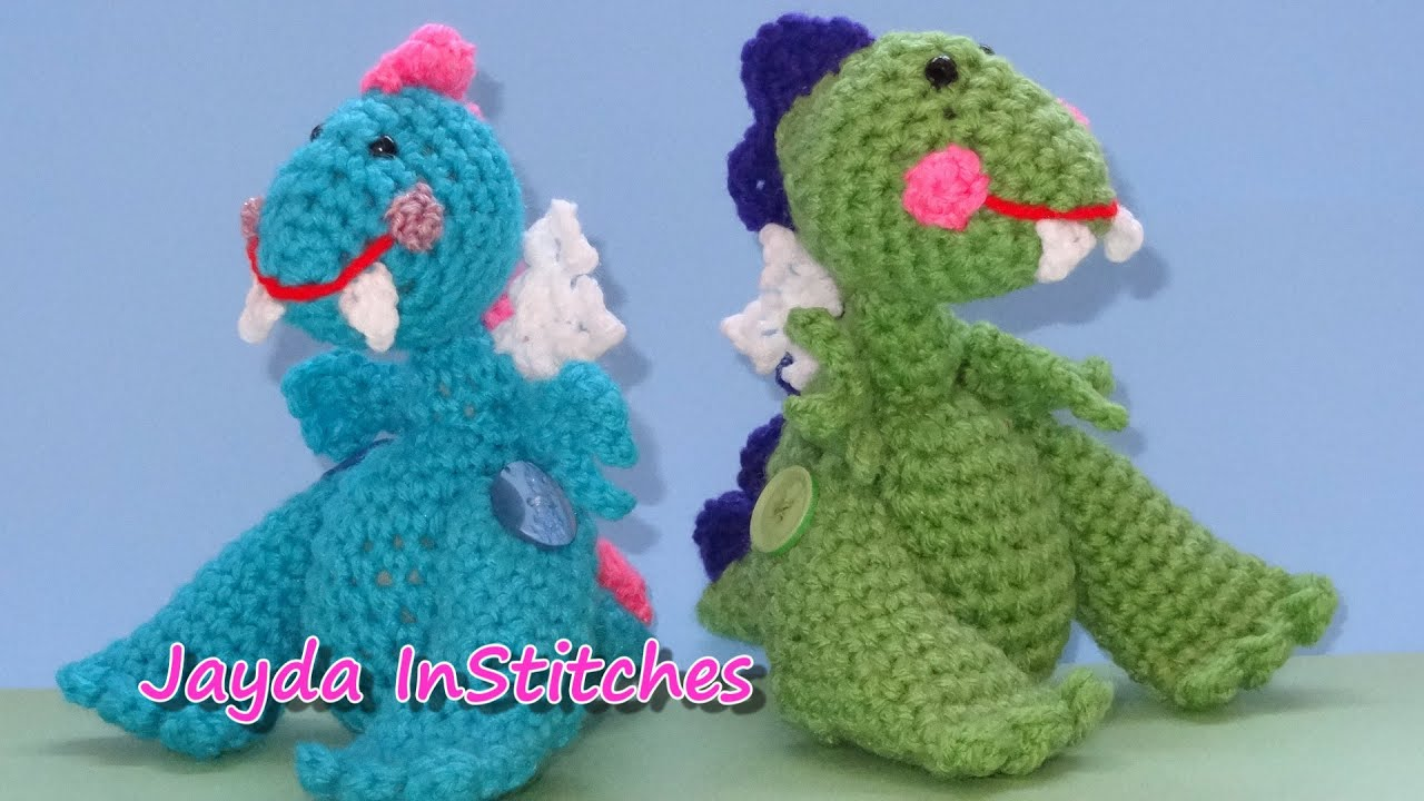 Crochet Dragon Wings Accessories Pattern Tutorial Youtube