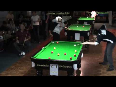 Geelong Open 8 Ball 2011 Semi Final Alec Evreniadis v Jake McCartney