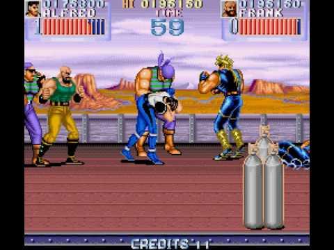 Legionnaire arcade 2 player 60fps