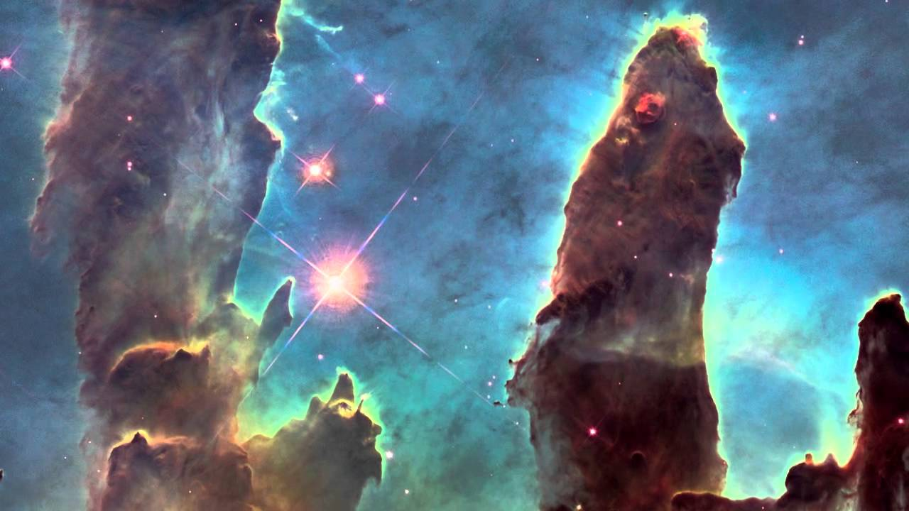hubble backgrounds pillars of creation - photo #9