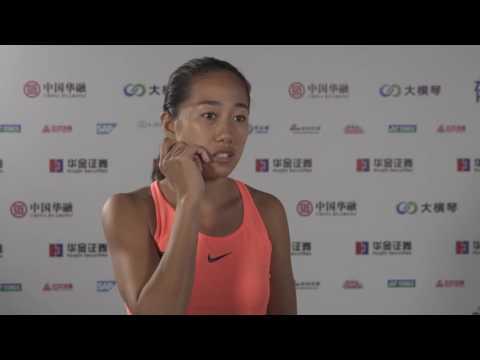 2016 WTA Elite Trophy Zhuhai | Shuai Zhang Interview