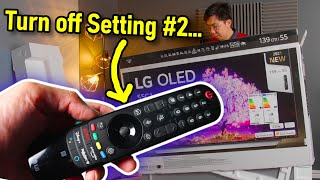 Three LG C1 Settings You Should Turn Off after Unboxing + Bonus Tip