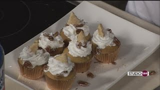 Studio 10:pecan Pie Custard Cupcakes