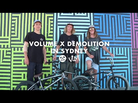 Volume X Demolition Australian Team In Sydney