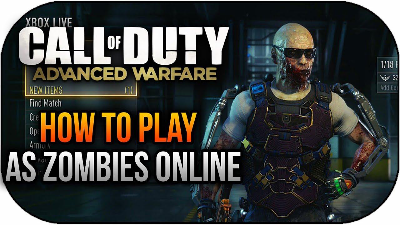 Unlock COD Advanced Warfare zombie skin easy - Product