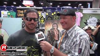 John Hennigan Interview San Diego Comic Con 2012
