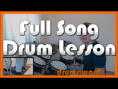 ★ We Are The Champions (Queen) ★ Drum Lesson PREVIEW | How to Play Song (Roger Taylor)