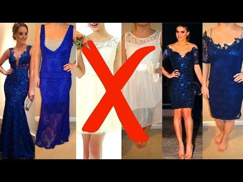 Where NOT to buy your PROM dress!