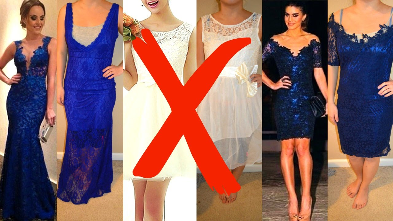 966adf07cc7 Where NOT to buy your PROM dress! - YouTube