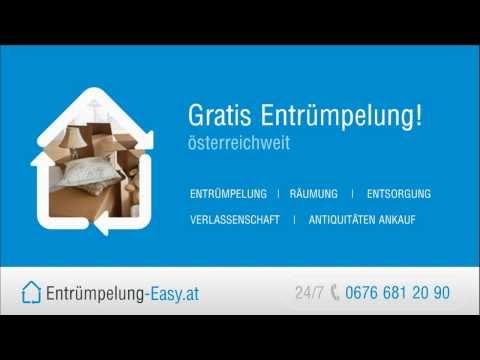 Entrümpelung, Räumung, Entsorgung, Verlassenschaften, Antiquitäten Ankauf in Wien
