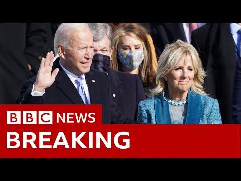 Joe Biden sworn in as 46th US president - BBC News